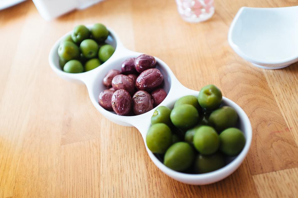 Oliven und dann Vespa GTS 300