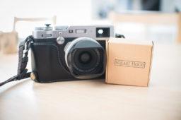 SquareHood für Fuji X100F – Ästhetik pur